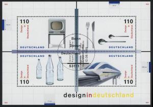 Block 50 Design in Deutschland 1999, ESSt Bonn