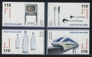 2068-2071 Einzelmarken aus Block 50 Design 1999, 4 Werte, Satz **