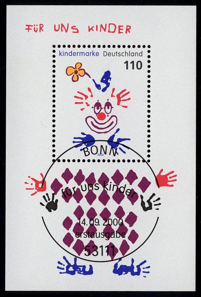Block 53 Für uns Kinder - Clown 2000, ESSt Bonn 0