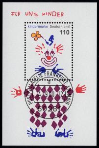 Block 53 Für uns Kinder - Clown 2000, VS-O Frankfurt/Main