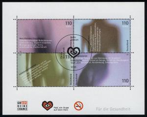 Block 54 Für die Gesundheit 2001 mit ESSt Berlin