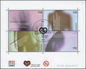 Block 54 Für die Gesundheit 2001 mit ESSt Bonn