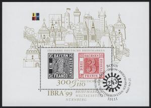 Block 46 IBRA Nürnberg 1999, ESSt Bonn
