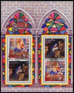 Block 56I Weihnachten 2001, ESSt Bonn & ESSt Madrid 8.11.2001