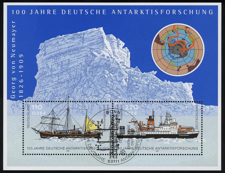 Block 57 Antarktisforschung 2001, ESSt Bonn 0
