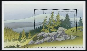 Block 59 Nationalpark Hochharz & Brocken 2002, postfrisch