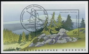 Block 59 Nationalpark Hochharz & Brocken 2002 mit ESSt Berlin Brockenhexe