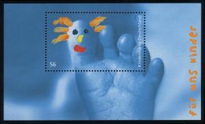 Block 60 Für uns Kinder 2002, postfrisch