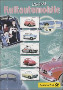 2289-2293 Wofa 2002 Oldtimer & Kultautomobile -  EB 6/2002 mit Isetta, Käfer ...