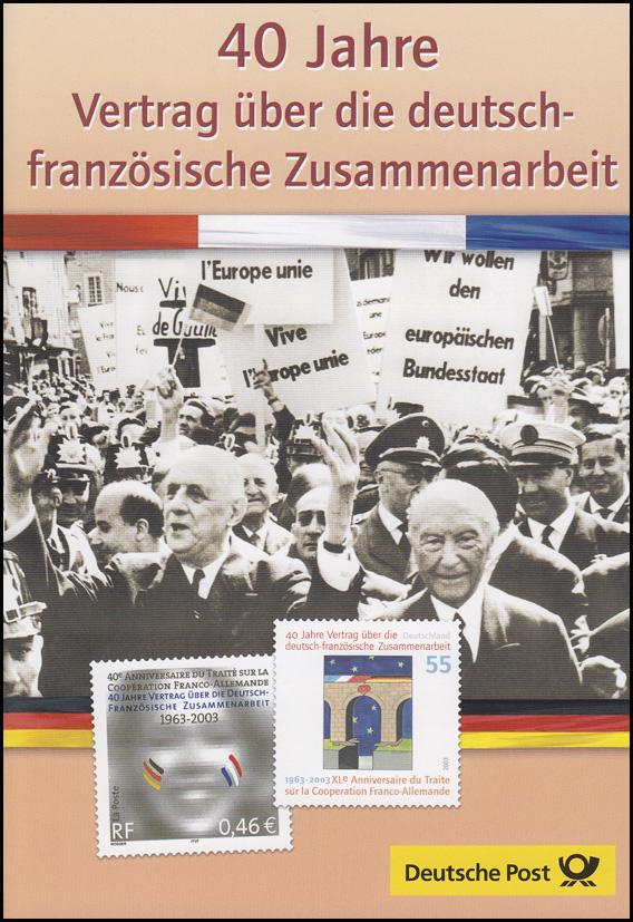 2311I Vertrag über Zusammenarbeit Deutschland-Frankreich - EB 1/2003, Type I 0