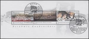 Block 61 Berühmte Knabenchöre 2003 mit ESSt Bonn Musiknoten