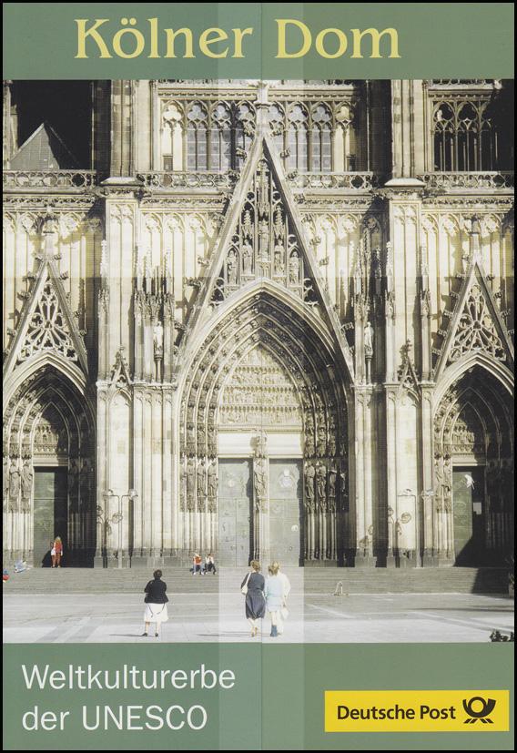 2329 UNESCO-Weltkulturerbe Kölner Dom - EB 2/2003 0