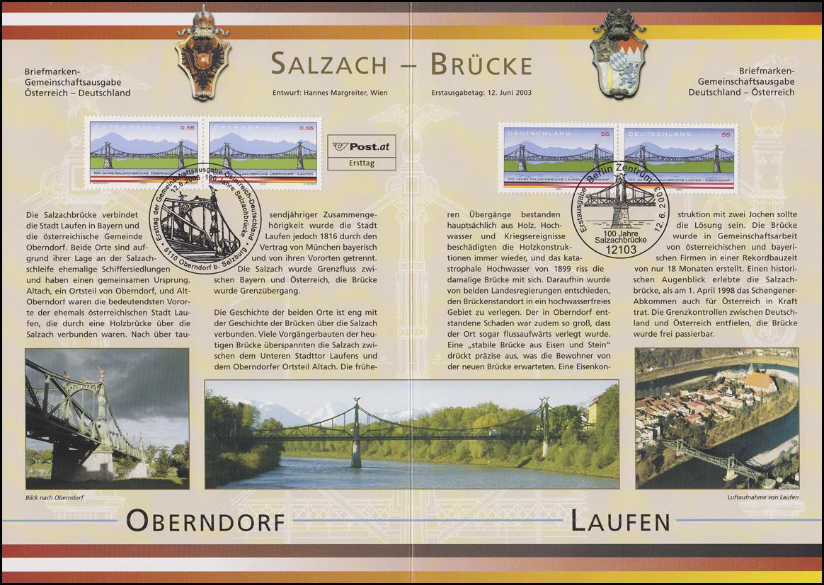 2345 Salzachbrücke Laufen-Oberndorf - EB 4/2003 1