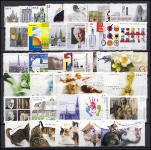 2374-2433 Deutschland Bund-Jahrgang 2004 komplett, postfrisch **