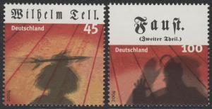 2391-2392 Einzelmarken aus Block 65 Klassiches Theater, Satz **