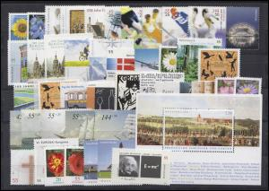 2434-2504 Deutschland Bund-Jahrgang 2005 komplett, postfrisch **