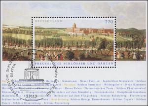 Block 66 Preußische Schlösser und Gärten, ESSt Bonn