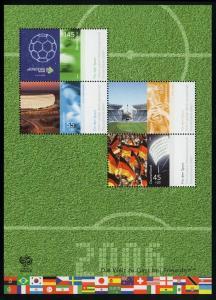 Block 67 Fußball-Weltmeisterschaft Deutschland 2006, postfrisch
