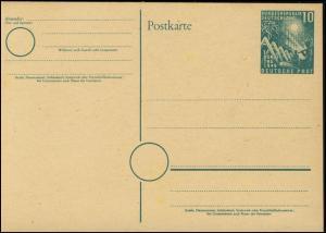 PSo 1 Bundestag 10 Pf. 1949, postfrisch