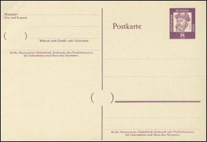 P 59 Gutenberg 8 Pf Antiqua, ohne Beidruck ** wie verausgabt