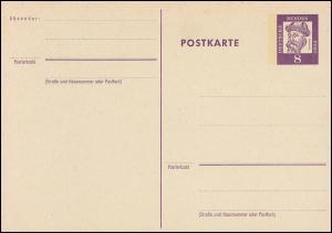 P 73 Gutenberg 8 Pf Grotesk, mit Beidruck **