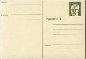 P 110a Heinemann 30 Pf Strichzeilen rahmfarben ** wie verausgabt