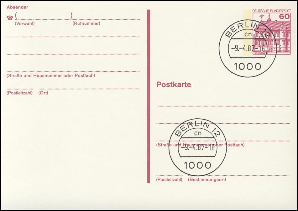 P 135 II BuS 60 Pf Letterset VS-O Berlin 12 0