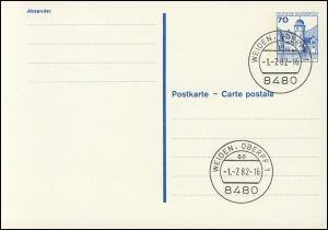 P 136 I BuS 70 Pf Buchdruck VS-O Weiden