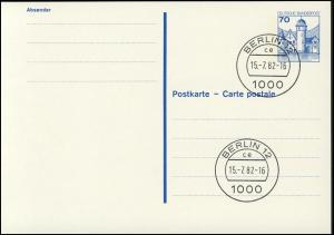 P 136 I BuS 70 Pf Buchdruck VS-O Berlin 12