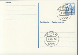P 136 II BuS 70 Pf Letterset VS-O Berlin 12