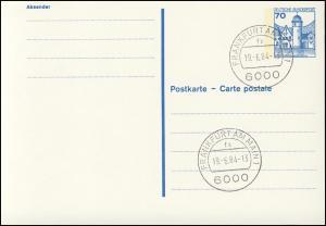 P 136 II BuS 70 Pf Letterset VS-O Frankfurt