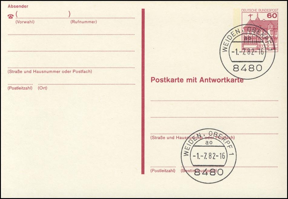 P 137 I BuS 60/60 Pf Buchdruck VS-Weiden 0