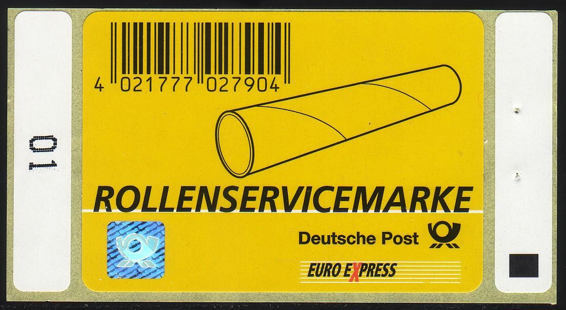 Nummer 1I: Rollenservicemarke 2003, postfrisch 0