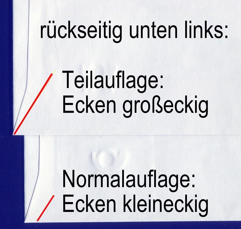 USo 33/01 Euro 2002, 35x36 mm, Ecken groß eckig, seltene Teilauflage, ** 1