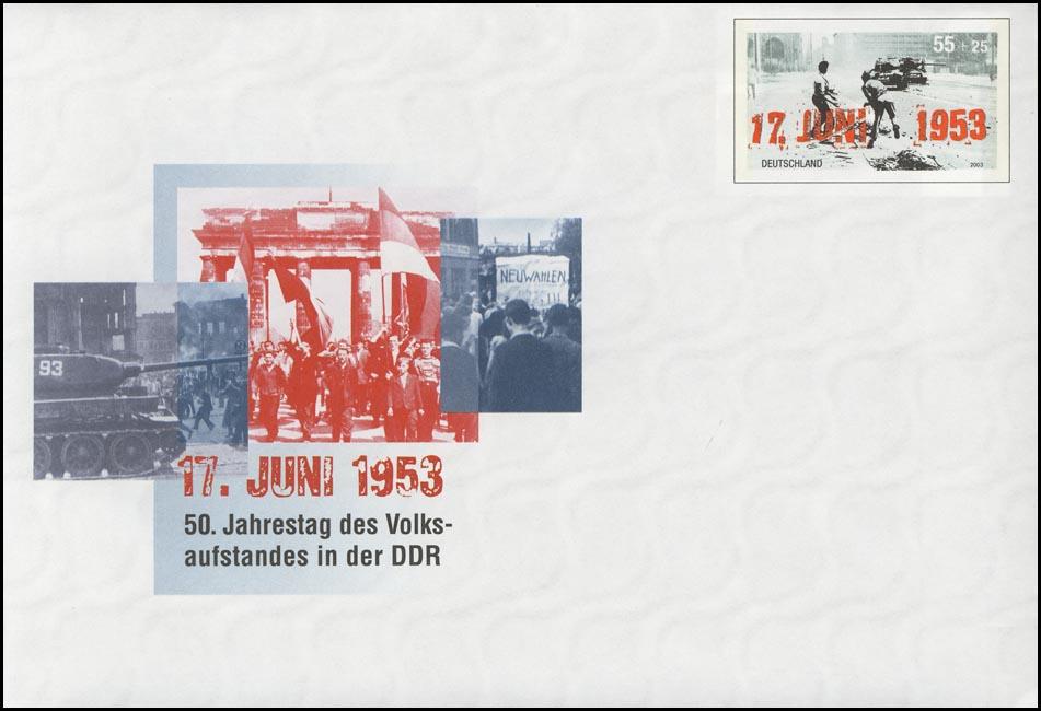 USo 59 Volksaufstand DDR 17. Juni 1953, ** 0