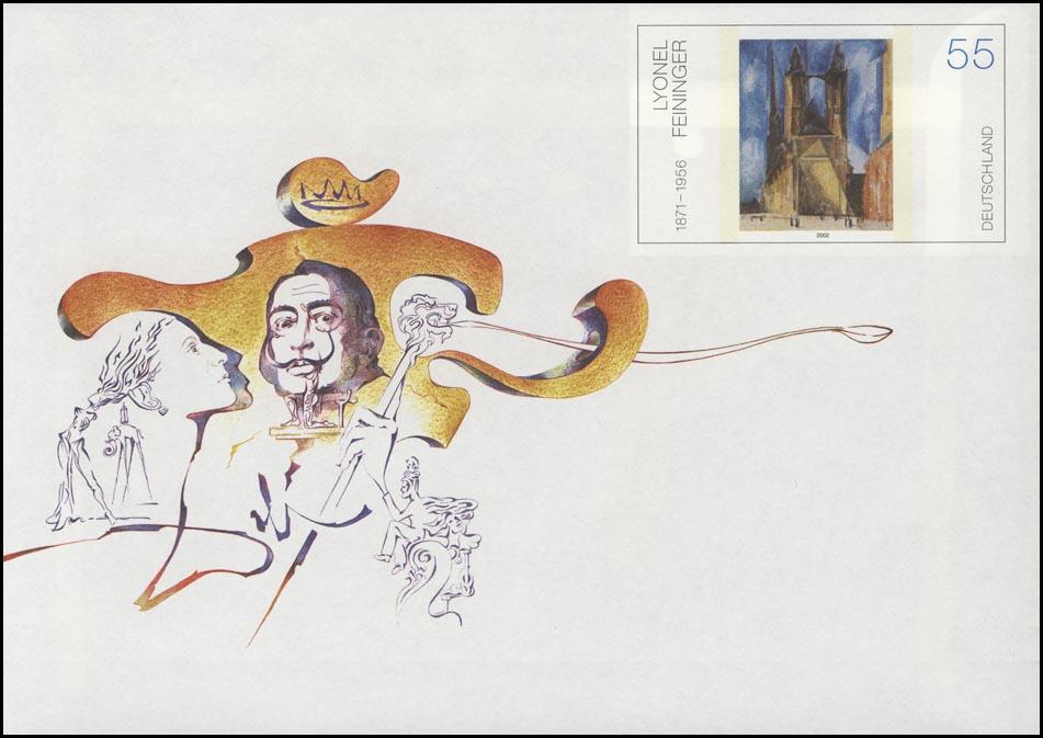 USo 74 Salvador Dali Maler & Grafiker & Schriftsteller 2004, ** 0