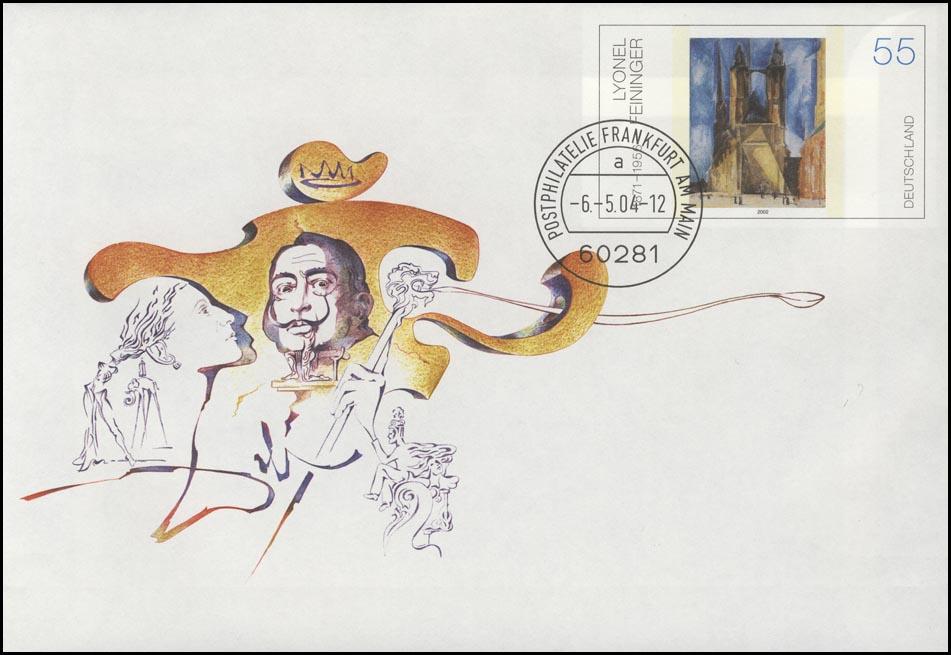 USo 74 Salvador Dali Maler & Grafiker & Schriftsteller, VS-O Frankfurt 6.5.2004 0