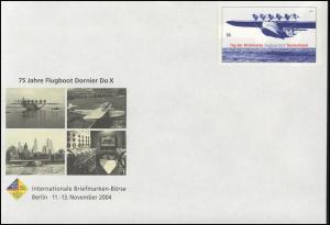 USo 85 Berlin 2004 & Flugboot Dornier Do X, **