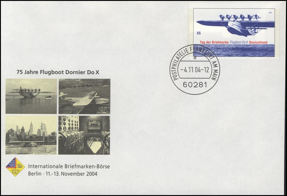 USo 85 Berlin & Flugboot Dornier Do X, VS-O Frankfurt 4.11.2004 0
