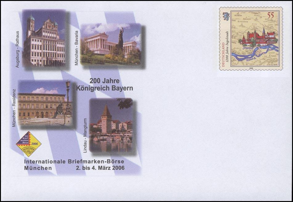 USo 113 Messe München - 200 Jahre Königreich Bayern 2006, ** 0