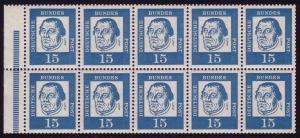 HBl. 13 aus MH 8 Luther, RLV III, postfrisch