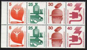 HBl. 24 aus MH 19 Unfall 1973, RLV I, postfrisch