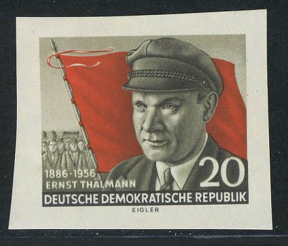 520B Ernst Thälmann, UNGEZÄHNT, ** 0