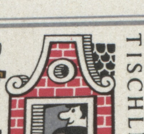 1236-1241 Märchen-KB mit 3 PLF: Punkt in der Schulter, Knopf und roter Strich ** 2