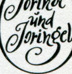1450-1455 Märchen-Kleinbogen mit PLF 1450 I gebrochenes o in Joringel, **