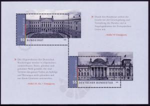 Block 76 Bundestag und Bundesrat, postfrisch **