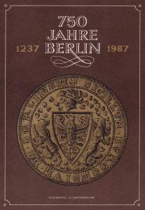 3071-3174 und Block 89 Berlin 1987, amtliches ETB 2/1987