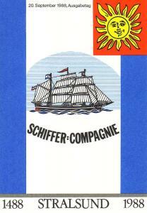 3198-3201 Segelschiffe 1988, amtliches ETB 2/1988