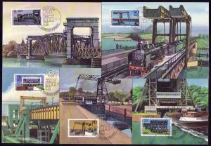 3203-3207 Denkmäler 1988, amtliche MK 5-9/88