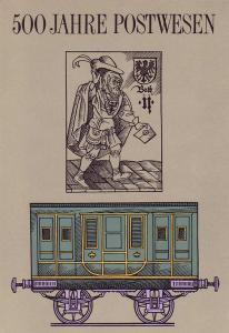 3354-3357 Postverbindung 1990, amtliches ETB 4/1990